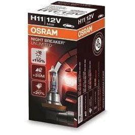 OSRAM Night Breaker Unlimited H11 55W PGJ19-2
