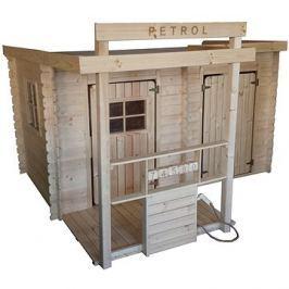 Dětský dřevěný domek CUBS - Petrol