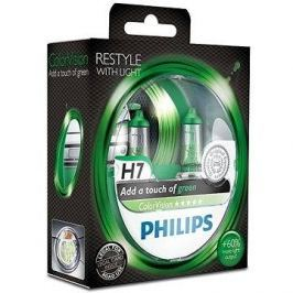 PHILIPS  H7 ColorVision Green, 55W, patice PX26d, 2ks