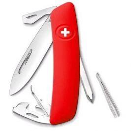 Swiza švýcarský kapesní nůž D04 red