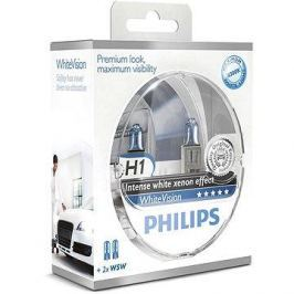 PHILIPS H1 WhiteVision, 55W, patice PX26d, 2ks