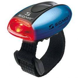 Sigma Micro modrá / zadní světlo LED-červená