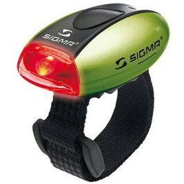 Sigma Micro zelená / zadní světlo LED-červená