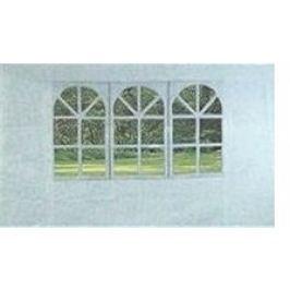 Happy Green Bočnice k zahradnímu altánu s oknem, bílá