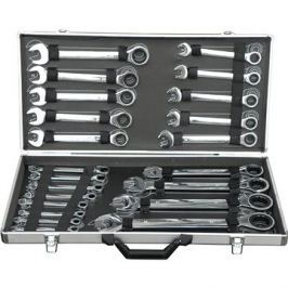 GEKO Sada ráčnových klíčů, 22ks, 6-32mm