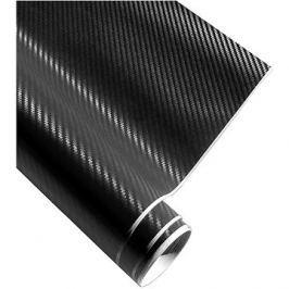 4CARS Fólie 3D CARBON se vzduchovými kanálky černá 1.52x2m