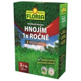 FLORIA Trávníkové hnojivo HNOJÍM 1x ROČNĚ 2,5 kg