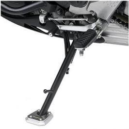 GIVI ES 2130 rozšíření bočního stojánku Yamaha MT-07 700 Tracer (16), stříbné hliníkové