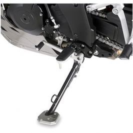 GIVI ES 3105 rozšíření bočního stojánku Suzuki DL 1000 V-Strom (14 -17) , stříbné hliníkové