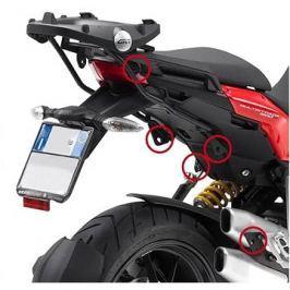GIVI PLXR 312 trubkový boční nosič Ducati Multistrada 1200 (10-14) jen pro boční kufry V 35 - EASY F