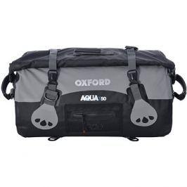 OXFORD vodotěsný vak Aqua50 Roll Bag, (černý/šedý, objem 50l)