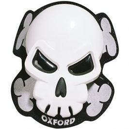 OXFORD slidery Skull, (bílé, pár)