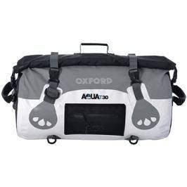 OXFORD vodotěsný vak Aqua30 Roll Bag, (bílý/šedý, objem 30l)