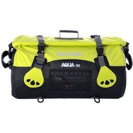 OXFORD vodotěsný vak Aqua50 Roll Bag, (černý/fluo, objem 50l)