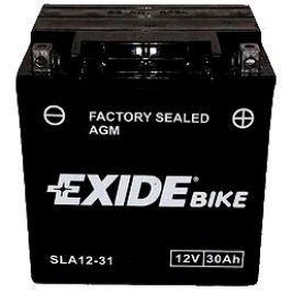 EXIDE BIKE Factory Sealed 30Ah, 12V, AGM12-31 (YIX30L-BS)