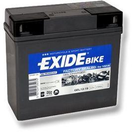 EXIDE BIKE Factory Sealed 19Ah, 12V, GEL12-19 (51913-BMW)