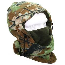 NGT Camo Snood with Face Guard