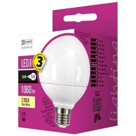 EMOS LED žárovka Classic Globe 11,5W E27 teplá bílá