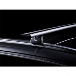 Thule střešní nosič pro BMW, X6, 5-dr SUV, r.v. 2015->, s integrovanými podélnými nosiči.