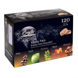 Bradley Smoker - Brikety Premium Five Flavour Varieties 120ks