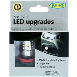 RING LED H11 6000K 2ks
