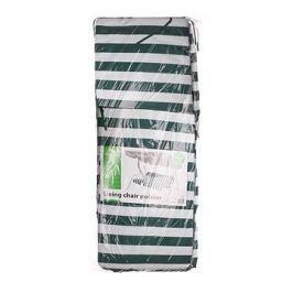 HAPPY GREEN Polstr na houpačku, zelený pruh