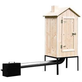 TOHOS Set malé zahradní udírny + topeniště