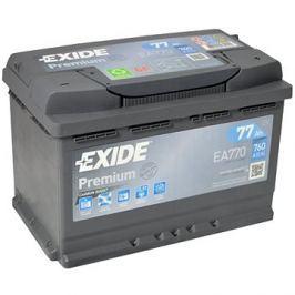 EXIDE Premium 77Ah, 12V, EA770