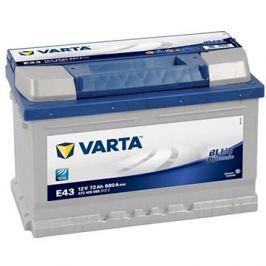 VARTA BLUE Dynamic 72Ah, 12V, E43