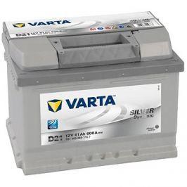 VARTA SILVER Dynamic 61Ah, 12V, D21