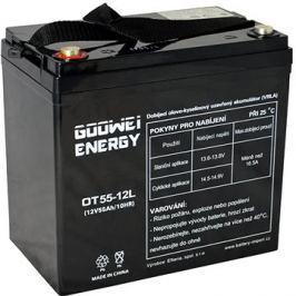 GOOWEI ENERGY OTL55-12, baterie 12V, 55Ah, DEEP CYCLE