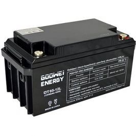 GOOWEI ENERGY OTL65-12, baterie 12V, 65Ah, DEEP CYCLE