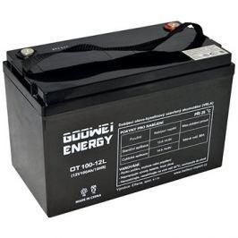 GOOWEI ENERGY OTL100-12, baterie 12V, 100Ah, DEEP CYCLE