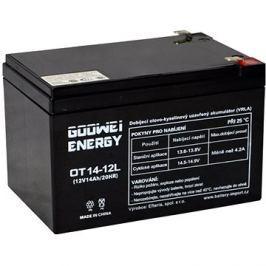 GOOWEI ENERGY OTL14-12, baterie 12V, 14Ah, DEEP CYCLE