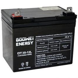 GOOWEI ENERGY OTL35-12, baterie 12V, 35Ah, DEEP CYCLE