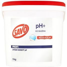 SAVO Do bazénu pH+ zvýšení hodnoty pH 5kg