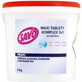 SAVO Do bazénu Maxi tablety komplex 3v1 5kg