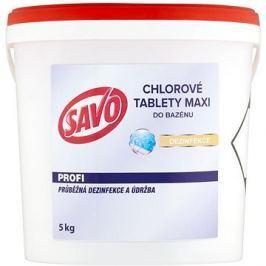SAVO Do bazénu Maxi tablety chlorové 5kg