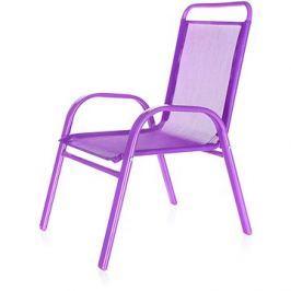 HAPPY GREEN Židle dětská fialová
