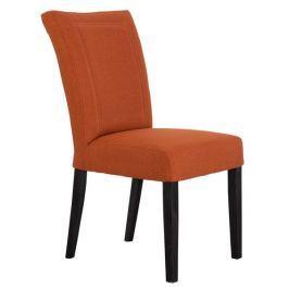 Zena, oranžová tkanina