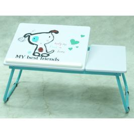 Laptop, motív psík