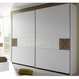 Kirchberg, 218 cm, biela/dub