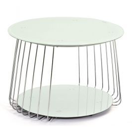Riva, kov/biele sklo