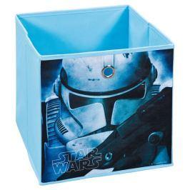 Star Wars 1, modrý, motív bojovníka