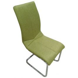 Erdefa, limetkovo zelená tkanina