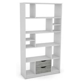 Sten 1, biely / sivý betón