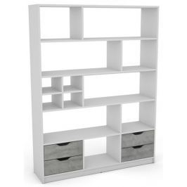 Sten 2, biely / sivý betón