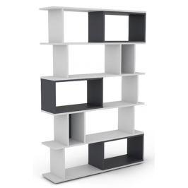 Cubix, biely / grafitovo šedý