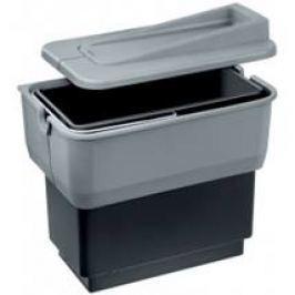 Blanco Odpadkový kôš 14 l, čiernošedá, plast 512880
