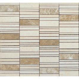 Premium Mosaic Stone Kamenná mozaika mix béžová 2,5/7 STMOS2570BE
